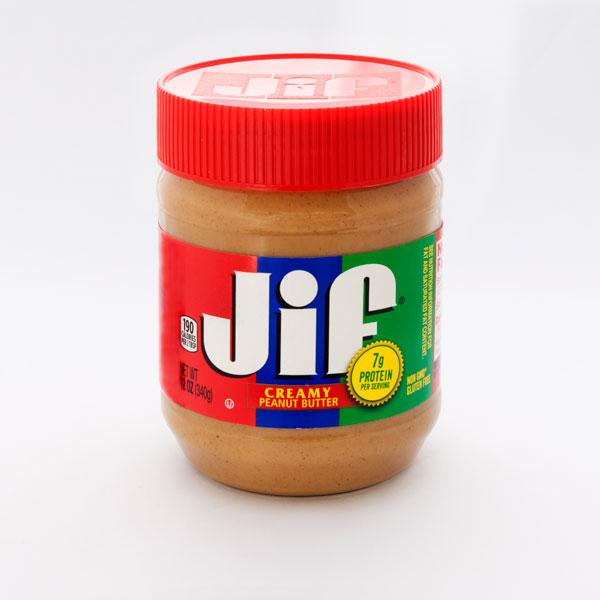 Jif クリーミー ピーナッツバター 340g