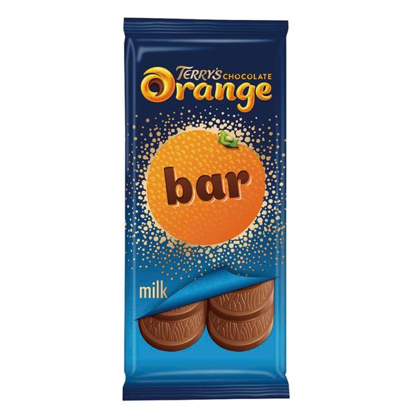 テリーズ チョコレートオレンジ タブレット ミルク 90g