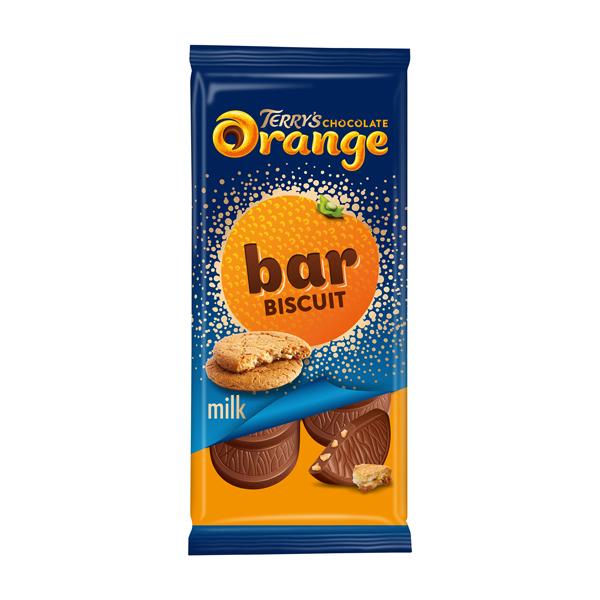 テリーズ チョコレートオレンジ タブレット ビスケット 90g