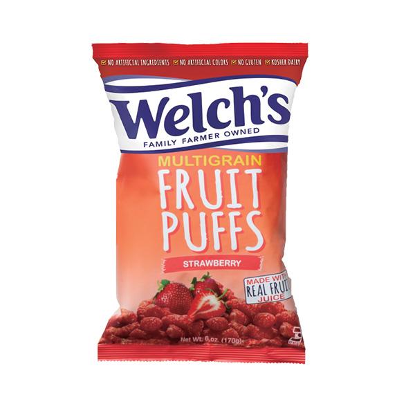 Welch's フルーツパフ ストロベリー 170g